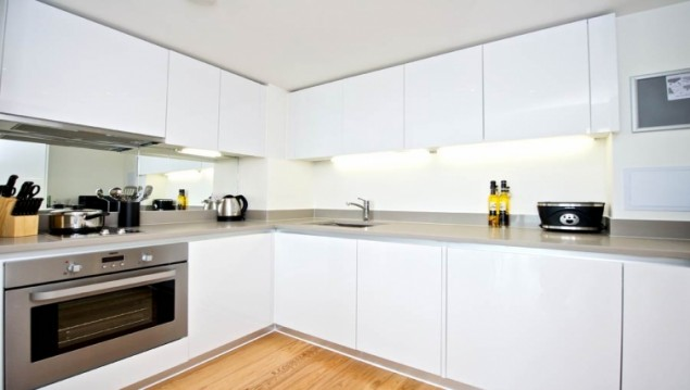 Bangkok serviced apartment fully equipped kitchen
